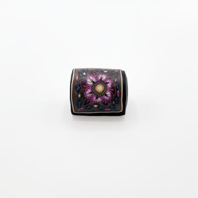 INNOVA M-Series Sewhead Handle Magnet - Pink Leaves