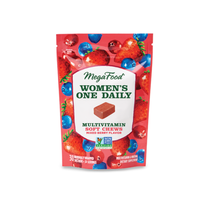 MegaFood Women's Multi Chews Mixed Berry