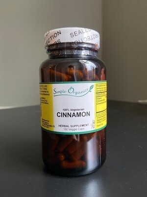 Simple Organics Cinnamon 180cap