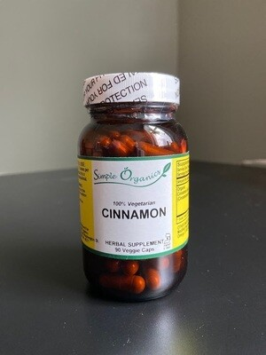 Simple Organics Cinnamon 90cap