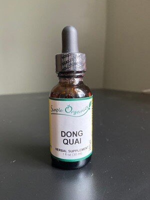 Simple Organics Dong Quai 1oz
