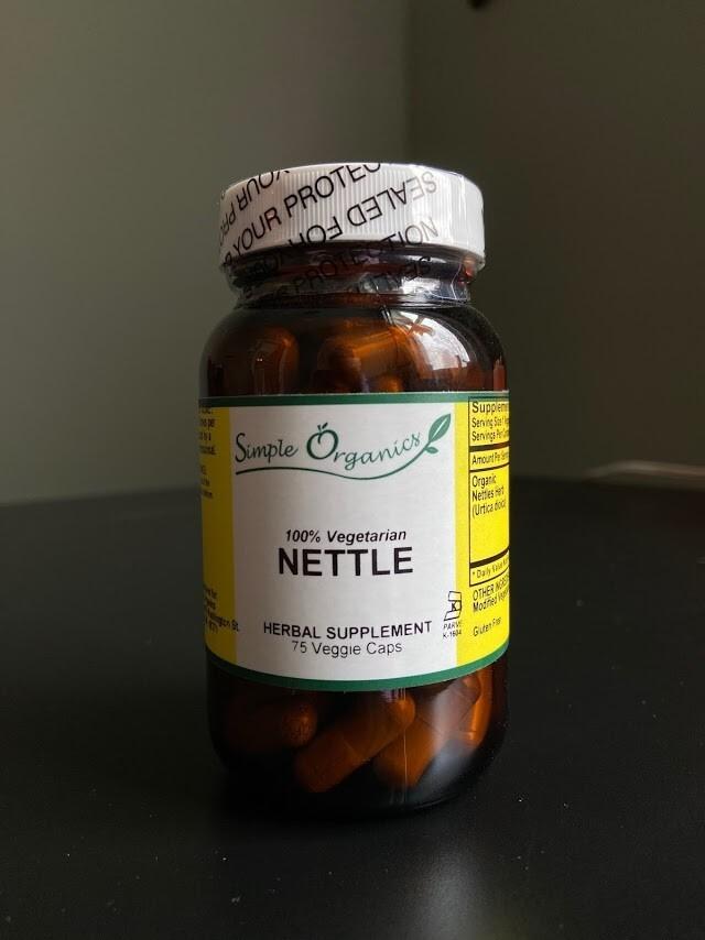 Simple Organics Nettle 75cap