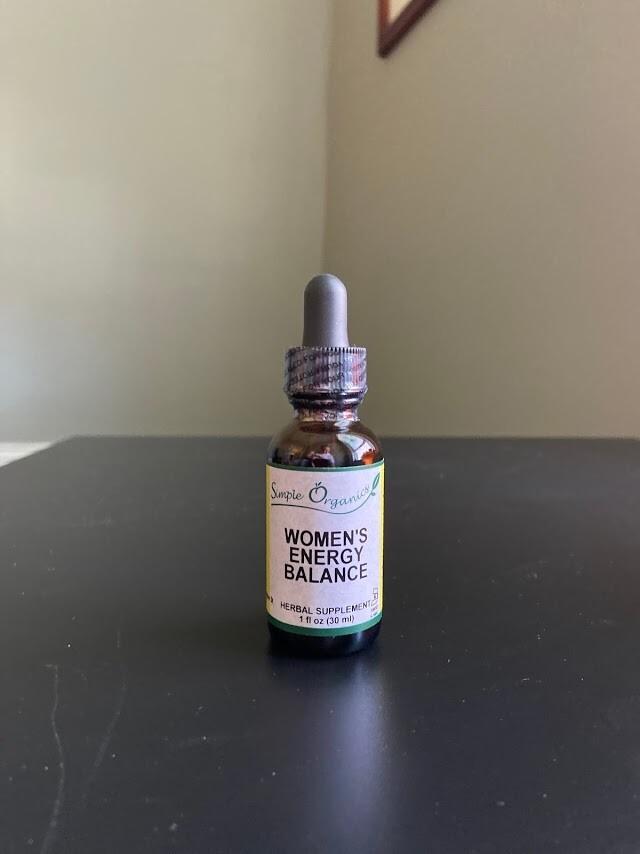 Simple Organics Womens Energy Balance 1oz