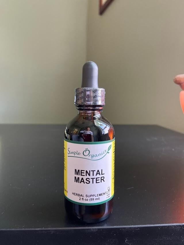 Simple Organics Mental Master 2oz