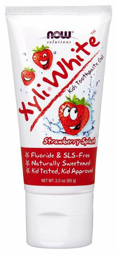 NOW Xyliwhite- Kids Strawberry Toothpaste 3oz