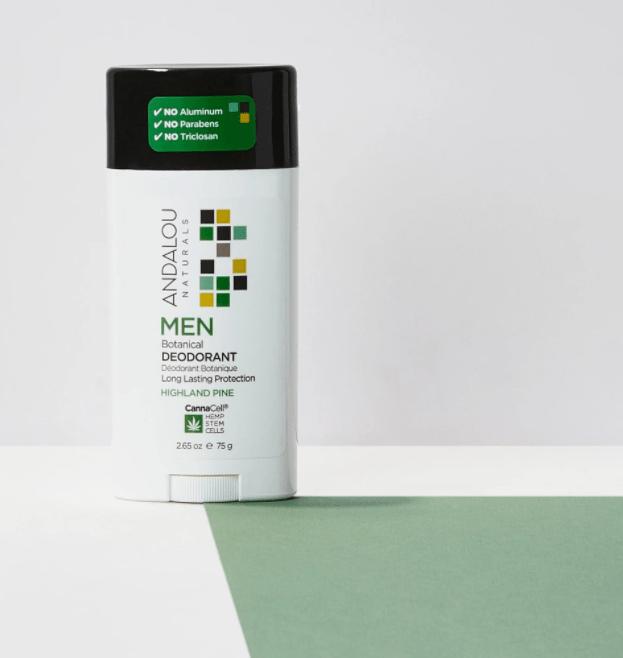 Andalou Men Deodorant Pine 2.65oz