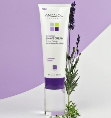 Andalou Shave Cream Lavender Thyme