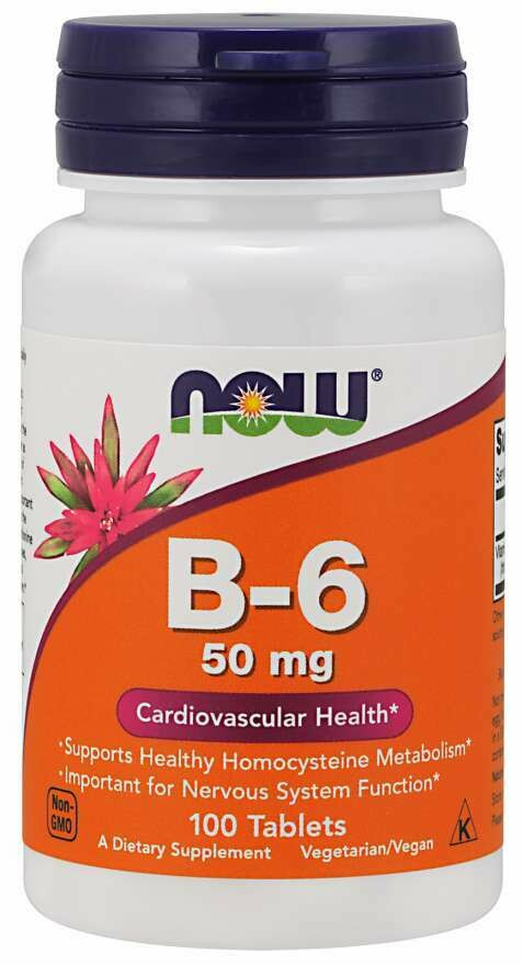 NOW B-6 50mg 100tab
