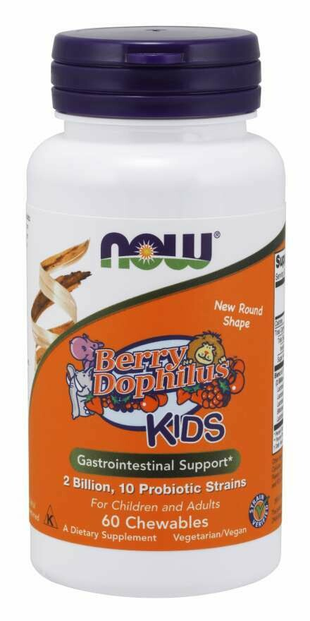 NOW Berrydophilus 2BIL 60chew