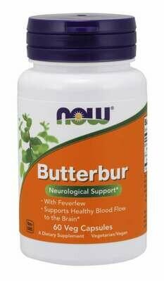 NOW Butterbur 60vcap