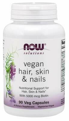 Now Vegan Hair Skin Nails 90