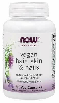 Now Vegan Hair Skin Nails 90