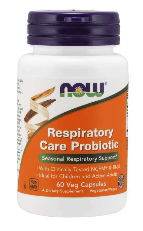 NOW Respiratory Care Probiotic 60cap