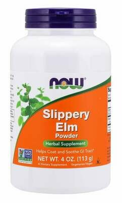NOW Slippery Elm Powder