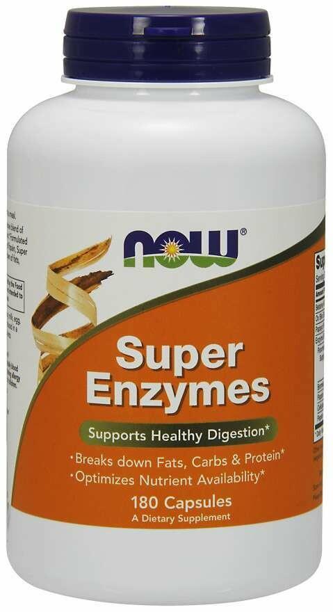 NOW Super Enzymes 180cap
