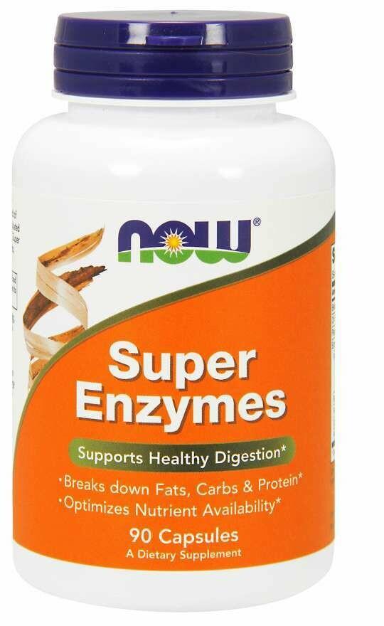 NOW Super Enzymes 90cap