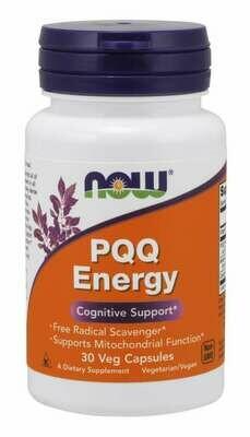 NOW PQQ Energy 30cap