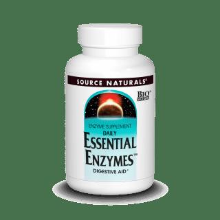 Source Naturals Essential Enzymes 180cap