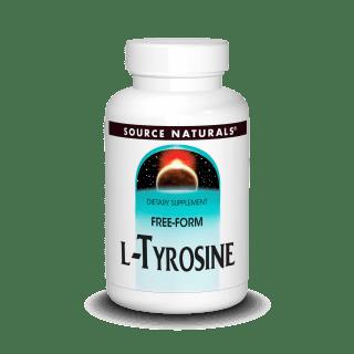 Source Naturals L-Tyrosine 500mg 100tab