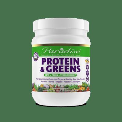 Paradise Herbs Protein Greens Vanilla