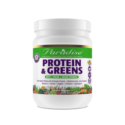 Paradise Herbs Protein Greens