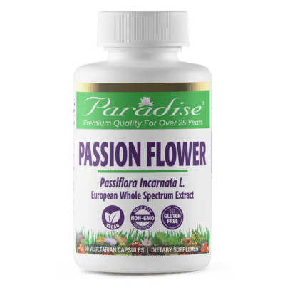Paradise Herbs Passion Flower 60