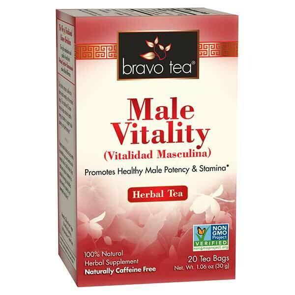 Bravo Male Vitality Tea 20ct