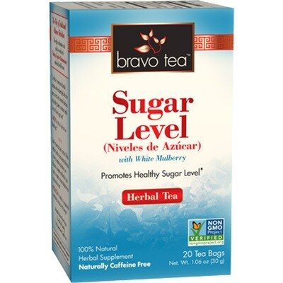 Bravo Sugar Level Tea 20ct