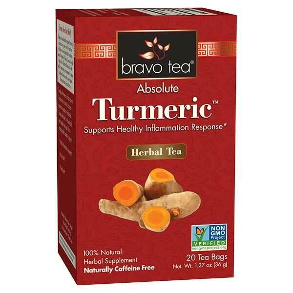 Bravo Turmeric Tea 20ct