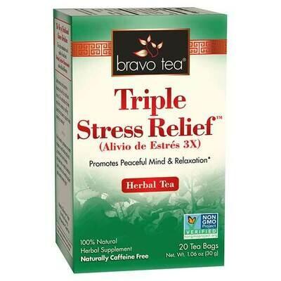 Bravo Triple Stress Tea 20ct