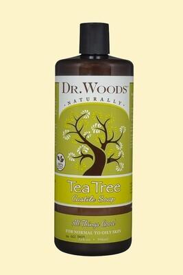 Dr. Woods Tea Tree 32oz