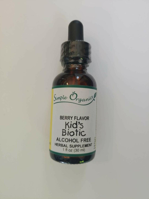 Simple Organics Kids Biotic Berry 1oz