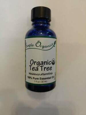 Simple Organics Organic Tea Tree 1 Oz