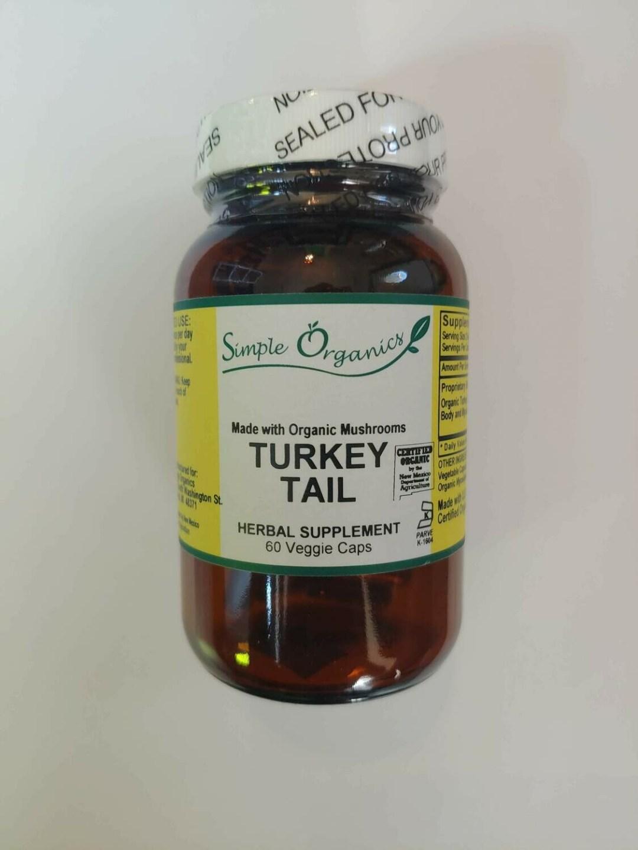 Simple Organics Turkey Tail Caps