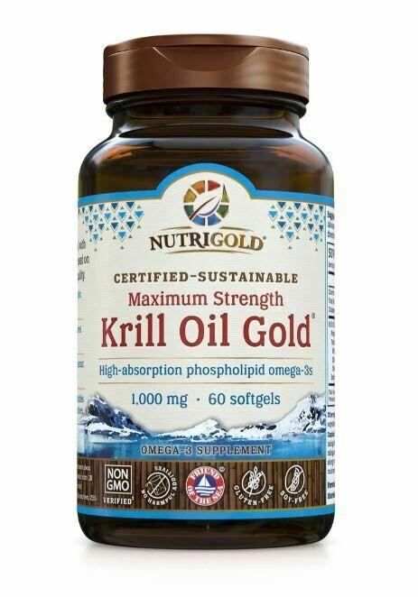 Nutrigold Krill Oil 1000mg 60sgel