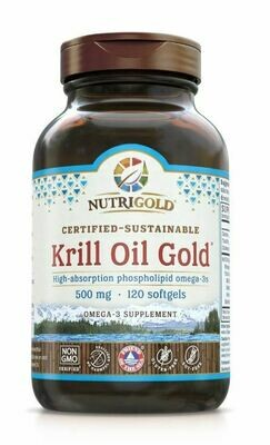 Nutrigold Krill Gold 500mg 120