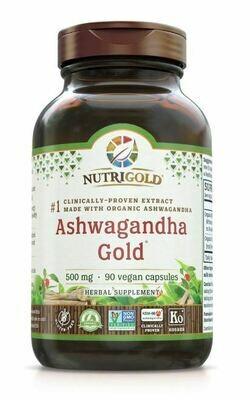 Nutrigold Ashwagandha 90vcap