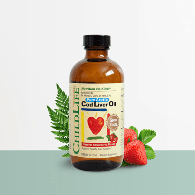 Childlife Cod Liver Oil Strawberry 8oz