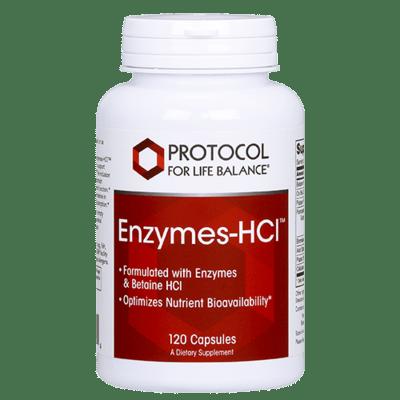 Protocol Enzymes-HCl 120cap