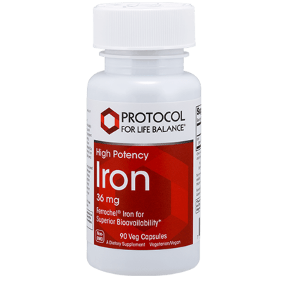 Protocol HP Iron 36mg 90vcap