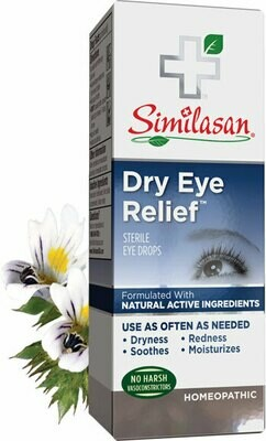 Similasan dry eye relief dropper