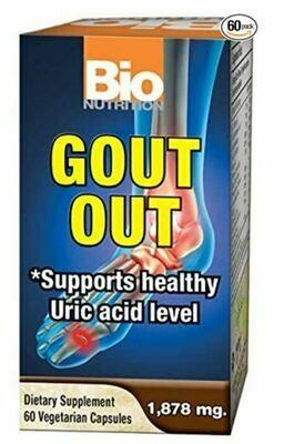 Bio Nutrition Gout Out 60vcap
