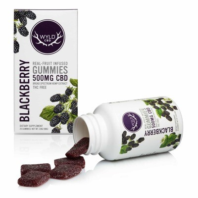 Wyld Blackberry 500mg Cbd 20