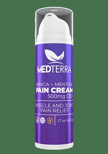 Medterra Arnica + Menthol Pain Cream 500 Mg 1.7 Oz