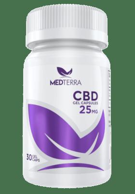 Medterra CBD 30 Gel Cap 25 Mg