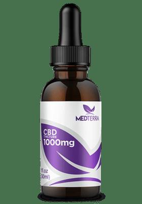 Medterra CBD Tincture 1000 Mg