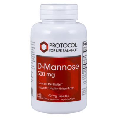 Protocol  Dmannose 500mg 90cap