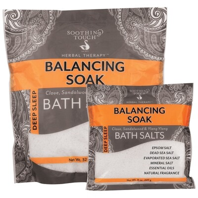 Soothing Touch Balancing Soak Salts 32oz