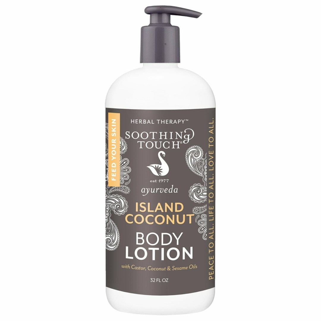 Soothing Touch Body Lotion Island Coconut 32oz