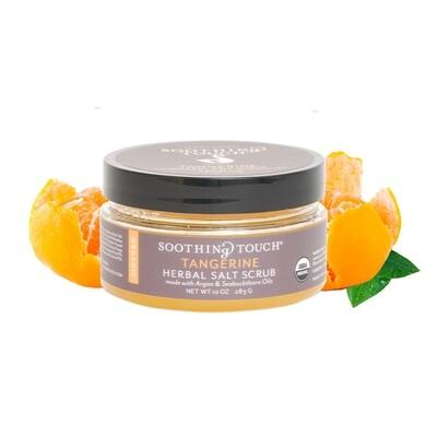 Soothing Touch Herbal Salt Scrub Tangerine 10oz